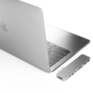 HYPER Hyperdrive Pro Hub For USB-C Macbook Pro (Silver) (GN28D-SILVER)