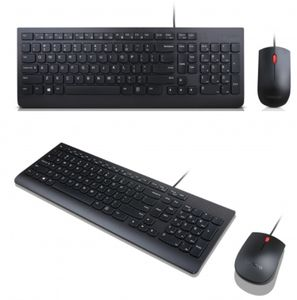 LENOVO Essential Wired Keyboard Mouse Arabic (UK) (4X30L79884)