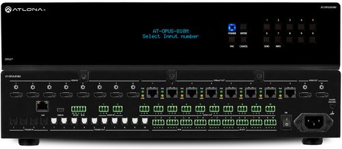 Atlona 4 by 6 HDMI to HDBaseT 4K HDR Matrix Switcher (AT-OPUS-46M)