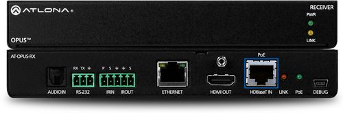 Atlona Ultra High Data Rate Extender Receiver w/IR, RS232, Ethernet (AT-OPUS-RX)