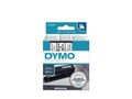 DYMO LABEL CASSETTE 9MM X 7M BLACK ON WHITE D1 TAPE