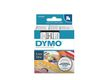 DYMO D1 6mm tape black/ white