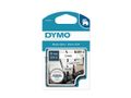 DYMO D1 Tape Nylon Tape 19 mm Black on White