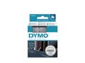 DYMO D1 12mm Tape Clear/ White