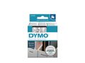 DYMO D1 12mm Black/Clear labels
