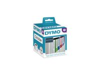 DYMO Lever arch labels 190mm x 59mm / 1 x 110 pcs 99019 (S0722480)