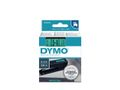 DYMO D1 Ribbon Black/Green 9mm