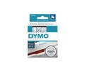 DYMO D1 Tape / 19mm x 7m / Blue Text / Transparent Tape