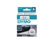 DYMO D1 Tape / 9mm x 7m / Blue Text / White Tape
