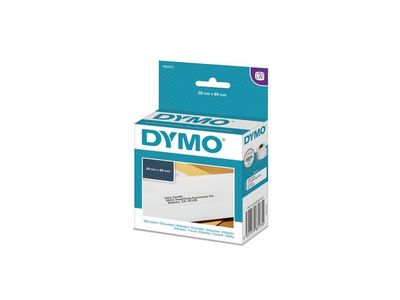 DYMO LW Standard Address labels - Low-Entry Volume, 28x89mm, 1x130 (1983173)