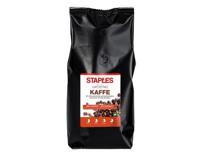 STAPLES Kaffe STAPLES Mellemrist 450g (148997)