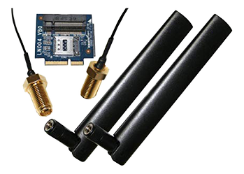 SHUTTLE Expansion kit for DL10J to install a LTE/4G card (POE-WWN01)
