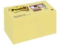POST-IT POST-IT SuperSticky 51x51mm gul 12/FP