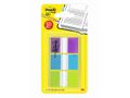 POST-IT Index POST-IT 25x43mm lila turkos lime