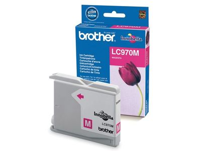 BROTHER DCP135/ 150C magenta blæk (LC970M)