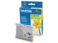 BROTHER Blekk BROTHER LC970Y gul (LC970Y)