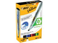 BIC Whiteboardpenn BIC Velleda 1754 ass (4) (1199001754)