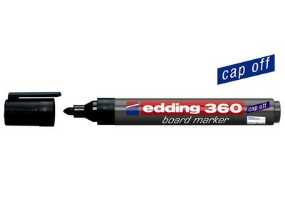 EDDING Whiteboardpenn EDDING 360 sort (4-360001*10)