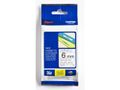 BROTHER TZe tape 6mmx8m black/ clear