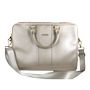 GUESS SAFFIANO LOOK COMPUTER BAG BEIGE 15""