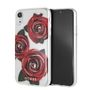 GUESS FLOWER DESIRE TRANSP HARD CASE WITH RED ROSES - IPX