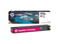 HP INK CARTRIDGE NO 973X MAGENTA PAGEWIDE / HIGH YIELD SUPL (F6T82AE)