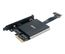 AKASA Dual M.2 SSD to PCIe adapter card with heatsink cooler and RGB LED light