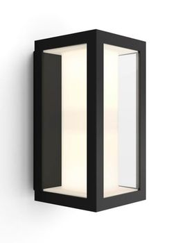 Philips Hue - Impress Wall Lantern Black - White & Color Ambiance (915005730601)