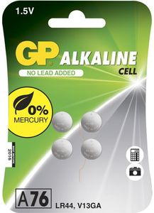 GP Lithium Cell A76F_ 1_5V_ 4-pack (103183)