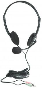 MANHATTAN Economy Stereo Headset (164429)