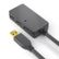 PURELINK Purelink USB 2.0 Active Extension w. Hub - black -, 6,0m