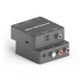 PURETOOLS PureTools - D to A Audio Converter. Coaxial or Tos, link to Analog L/R and 3.5mm Audio.