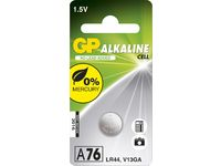 GP ALKALINE BUTTON CELL LR44
