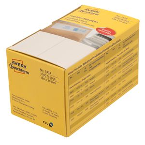 AVERY Franking Labels Double   (3433)