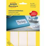 Etiket Avery 3362 Hvid 77x31mm Mp/224