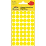 AVERY Labels Yellow   (3144)
