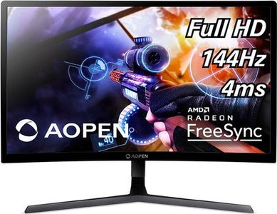 AOPEN Aopen 24HC1QRPbidpx Gaming Monitor 60cm 23.6inch 1920x1080 144Hz LED 1xHDMI Audio Out (UM.UW1EE.P01)