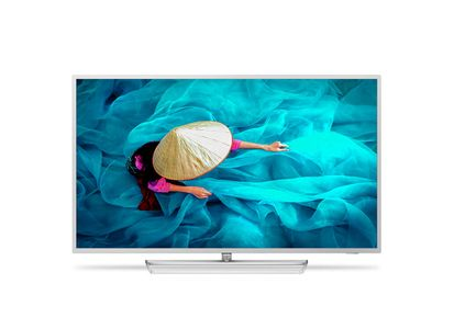 PHILIPS 43HFL6014U 43inch Media Suite IPTV 4K UHD with Chromecast Ext. Lifetime Google Play Store Analytics Android 7 Wifi Silver (43HFL6014U/12)