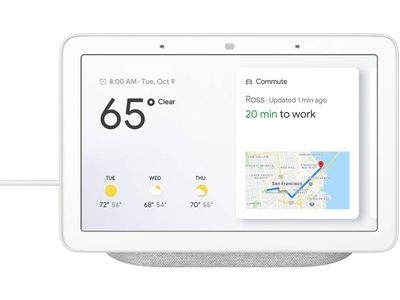 GOOGLE Home Hub Chalk Nordic (GA00516-NO)