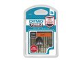 DYMO D1 Durable 12 mm x 3 M, Black on Orange