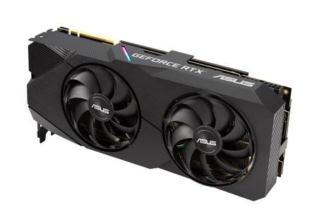 ASUS GF DUAL-RTX2080-A8G-EVO PCIE3 8GB GDDR6 1725MHZ DPX3 HDMI USBC IN (90YV0CL1-M0NM00)