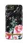 Richmond & Finch & Finch Black Marble Floral, iPhone 6/6s/7/8 case