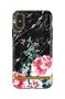 Richmond & Finch & Finch Black Marble Floral, iPhone X/Xs case