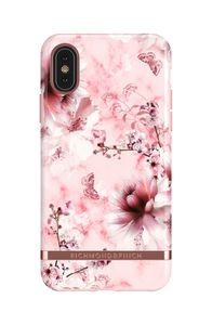 Richmond & Finch & Finch Pink Marble Floral, iPhone Xs Max case (IP65-605)