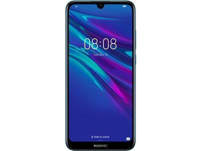 HUAWEI Y6 2019 Dual-SIM sapphire blue Android 9.0 Smartphone (51093MGE)