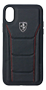 FERRARI - HERITAGE- 488 GENUINE LEATHER HARDCASE BLACK IP6.1