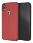 FERRARI HERITAGE HARDCASE W VERTICAL CONTRASTED STRIPE RED IP 6.1