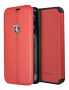 FERRARI HERITAGE - BOOKTYPECASE W VERTICAL CONTR. STRIPE RED IP6.1