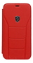 FERRARI - HERITAGE- 488 GENUINE LEATHER BOOKTYPE CASE RED IP 6.5