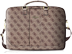 "GUESS 4G UPTOWN - COMPUTER BAG BLACK 15"" 4G BROWN"
